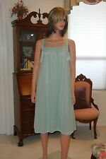 SHEER NYLON SEE-THROUGH NIGHTGOWN, X LARGE