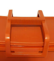 Vintage Tupperware Orange Stow-N-Go Lunch craft Box REPLACEMENT HANDLE ONLY NOS