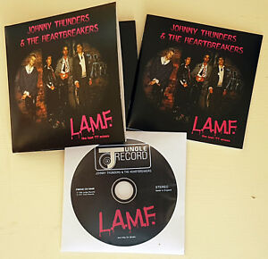 JOHNNY THUNDERS & the HEARTBREAKERS 'L.A.M.F. lost '77 mixes' REMASTERED 2017 CD