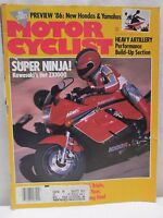 Vintage Motorcyclist Magazine December 1985 BMW 750 Triple Motorcycle As-is