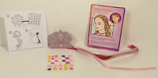 """2014 Isabelle Pink Clip On Hair Extension 9"""" Toy #6 McDonalds American Girl Doll"""