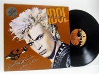 BILLY IDOL whiplash smile LP EX-/EX-, CDL 1514, vinyl, album, with inner sleeve,