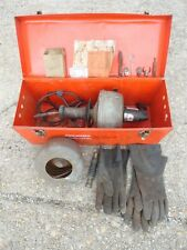 Ridgid Kollmann K-38 - Handheld Electric Drain Cleaner w/ Snake & Tool Box