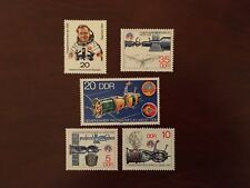GERMANY EAST DDR MNH 1978 COSMONAUT RUSSIAN SPACE MISSION SOYUZ EINSTEIN