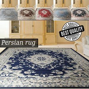 Classic Vintage Area Rug For Living Room Bedroom Large Traditional Carpet Runner