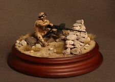 NATO in Miniatures BRIT-002 1/35 Modern British Gunner & Cal.50 MG, Without Base