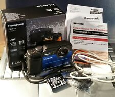Panasonic Lumix DC-FT7 blue, 31M Unterwasserkamera in OVP / 20.4MP + 4K video