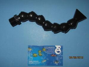 "LOC-LINE 1/2"" ROBO ARM Adjustable Single Return Nozzle for Aquariums"