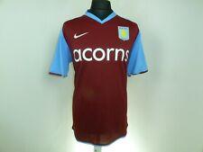 Aston Villa Heimtrikot 2009 - 2010 Fußball Trikot Größe Groß