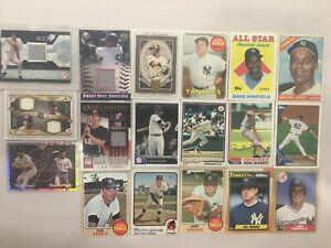 NY Yankees lot - SPx jersey PSA, Relics x 3, Jeter, Rivera, Munson, Boggs, +