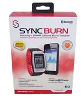 Sportline SyncBurn 24HR Calorie Burn Steps Distance Heart Rate Watch + Bluetooth