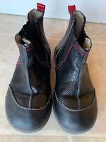 EUC See Kai Run Mateo Leather Boots, Black - Sz 12