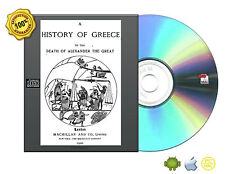 A History of Greece to the Death of Alexander the Great by J. B. Bury eBooks CD