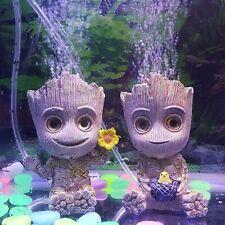 Aquarium Landscaping Accessories, Resin Tree Mermaid Decoration.
