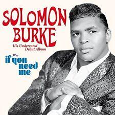 Solomun Burke - Debut Album / If You Need Me [New CD] Spain - Import