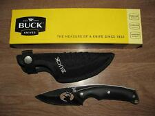 Buck Knife Alpha Hunter 694 Custom with Deer Cutout & Rubberized Handle NIB