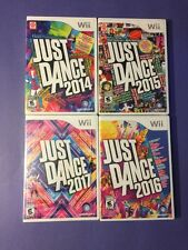 JUST DANCE *2014 + 2015 + 2016 + 2017* Package (Wii) NEW