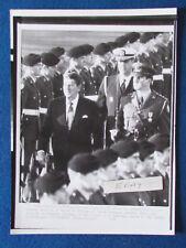 "Original Press Agency Wire Photo - 10.5""x8"" - President Ronald Reagan - 1984"