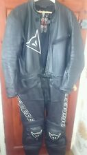 Mens Dainese leather 2 piece motorcycle(bike) suit Two peice The Best to buy!