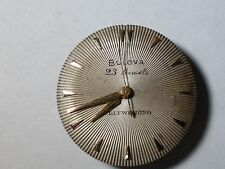 Bulova 10BOAC 23 jewels automatic watch movement & dial for parts ...