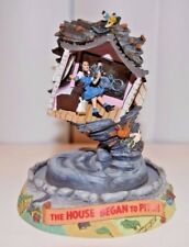 Wizard Of Oz Limited Edition Music Box DomeTurner The House Began To Pitch 1995