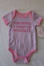 NEW Baby Girls 3 - 6 Months Bodysuit Creeper Outfit Infant 1 Piece Grandma