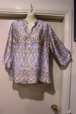 Target Polyester 3/4 Sleeve Tunic Tops & Blouses for Women