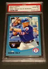 2013 Topps #87 Mike Olt Walmart Blue Border PSA 10 Gem Mint