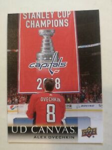 2018-19 UD CANVAS ALEXANDER OVECHKIN
