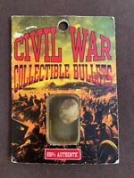 Vintage Authentic Civil War Collectible Bullet Excavated