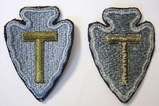 36th INFANTRY DIVISION PATCH FULL COLOR PRE 1960 ISSUE