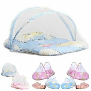 Newborn Portable Foldable Baby Kids Infant Bed Zipper Mosquito Net Tent Crib New