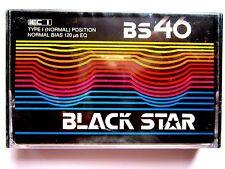 CASSETTE TAPE BLANK SEALED RARE - 1 x BLACK STAR BS 46 [1980's]
