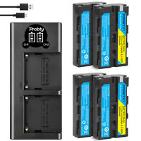 NP-F550 F570 Battery or Charger for Sony CCD-SC55 TR516 TR716 TR818 TR910 TR917