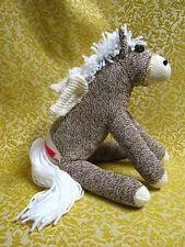 Sock Monkey Pegasus Handmade