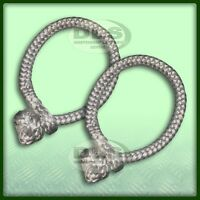 MARLOW - Dyneema Soft Rope Shackle Dynaline 5.8 Tonne Pair (DA7335)