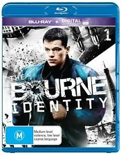The Bourne Identity (Blu-ray, 2016, 2-Disc Set) - BRAND NEW & SEALED