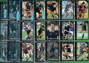 #EE.  SET(55) 1995 ALL BLACKS  RUGBY UNION CARDS