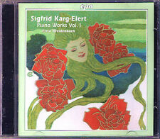 Sigfrid KARG-ELERT Piano Works Vol.1 Hexameron Partita Bagatellen CD Breidenbach