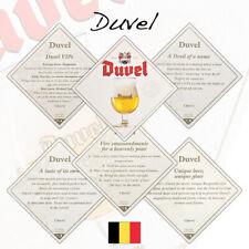 5 Duvel Beer Mats Coasters Belgium   Unused (BS88)