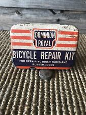 Vintage Dominion Royal Tire Tube Repair Kit Bicycle