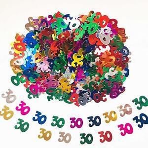 30th Mix Happy Birthday Party Glitz Table 30 Confetti Sprinkles Decorations