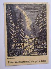 """""""Weihnachten, Waldweihnacht, Rehe"""" 1910, W. Döhler ♥ (39249)"""