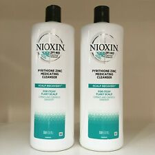 NIOXIN Scalp Recovery Medicating Cleanser (shampoo) ~ SET OF 2 ~ 33.8 oz each