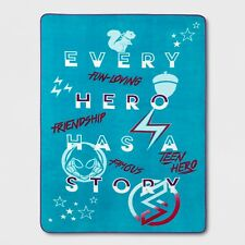 Marvel Rising Twin Bed Blanket