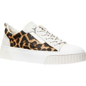 MICHAEL Michael Kors Womens Oscar Lace Up Woven Fashion Sneakers Shoes BHFO 6353