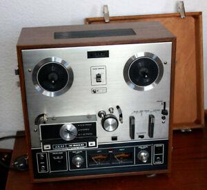 Seltene AKAI X 201 D Bandmaschine Stereo 4 Track Crossfieldsystem Tonbandgerät