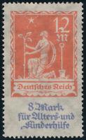 DR 1922, MiNr. 234 III, sauber ungebraucht, gepr. Infla-Berlin, Mi. 80,-