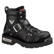 Harley-Davidson Men's Brake Buckle Black 6.00-Inch Motorcycle Boots D91684