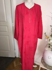 Djellaba Robe Orientale Abaya Taille M Coton Rose Neuf Avec Étiquette